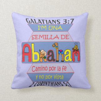 pillowKOZ02_1616spa_SemillaAbraham© Throw Pillow