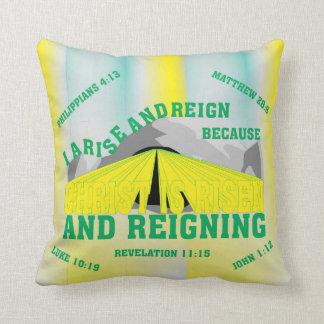 pillowKOZ04_1616eng_Risen and Reigning© Throw Pillow