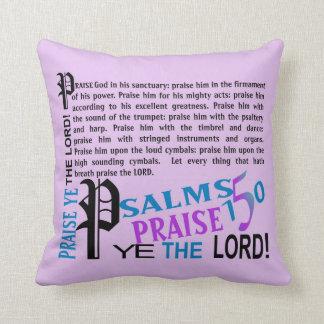 pillowKOZ08_1616eng_Psalsm150 © Throw Pillow