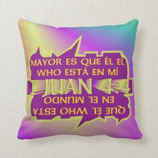 pillowKOZ11_1616spa_Mayor es que el© Throw Pillow