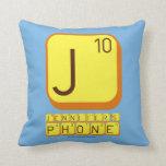 J JENNIFER'S PHONE  Pillows
