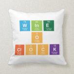 Wine o clock  Pillows