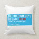 boothtown boys  brigade  Pillows