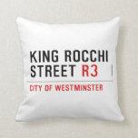 king Rocchi Street  Pillows