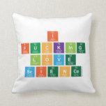 I Fucking Love  Science  Pillows