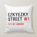 ezkyezky Street  Pillows