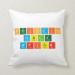 Periodic Table Writer  Pillows
