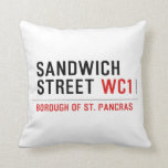 Sandwich Street  Pillows
