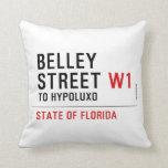 Belley Street  Pillows