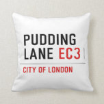 PUDDING LANE  Pillows