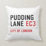 PUDDING LANE  Pillows
