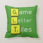 Game Letter Tiles  Pillows