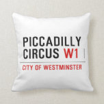 piccadilly circus  Pillows