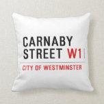 CARNABY STREET  Pillows