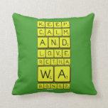 keep calm and love Retha wa Bongz  Pillows