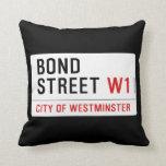 Bond Street  Pillows