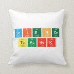 Science Teacher  Pillows