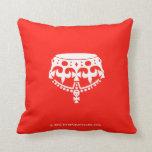 [Crown upside down]  Pillows