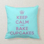 [Cupcake] keep calm and bake cupcakes  Pillows