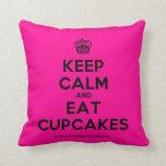 [Cupcake] keep calm and eat cupcakes  Pillows