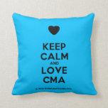 [Love heart] keep calm and love cma  Pillows