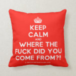 [Crown] keep calm and where the fuck did you come from?!  Pillows