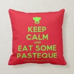 [Chef hat] keep calm and eat some pasteque  Pillows