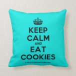 [Crown] keep calm and eat cookies  Pillows