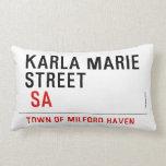 Karla marie STREET   Pillows (Lumbar)