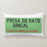 presa do rato     juncal  Pillows (Lumbar)