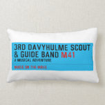 3rd Davyhulme Scout & Guide Band  Pillows (Lumbar)
