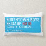 boothtown boys  brigade  Pillows (Lumbar)