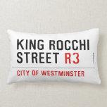 king Rocchi Street  Pillows (Lumbar)