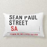 Sean paul STREET   Pillows (Lumbar)