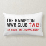 the Hampton  MWB Club  Pillows (Lumbar)