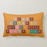 Happy  Periodic  Table Day Fellow Nerds  Pillows (Lumbar)