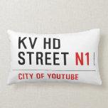 KV HD Street  Pillows (Lumbar)