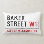baker street  Pillows (Lumbar)