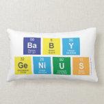 baby genius  Pillows (Lumbar)