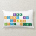 free  happy life  vision  love peace  Pillows (Lumbar)