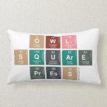 Owl Square Press  Pillows (Lumbar)