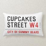 cupcakes Street  Pillows (Lumbar)
