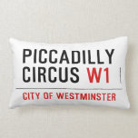 piccadilly circus  Pillows (Lumbar)
