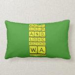 keep calm and love Retha wa Bongz  Pillows (Lumbar)