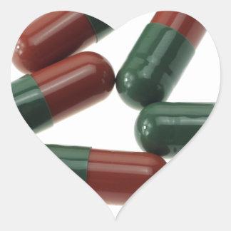Pills-789 Heart Sticker