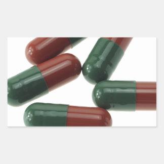 Pills-789 Rectangular Sticker