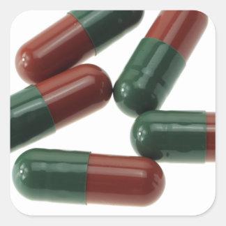 Pills-789 Square Sticker