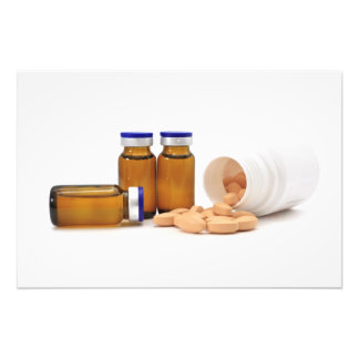 pills and medicine bottles art photo
