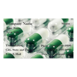 Pills Double-Sided Standard Business Cards (Pack Of 100)