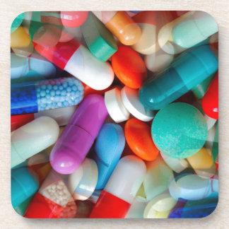 pills drugs coaster
